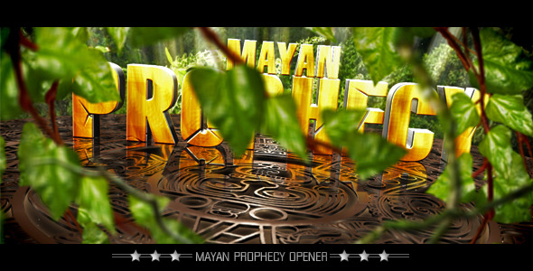 VideoHive Mayan Prophecy Show 2012 2205936