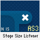 Easy Stage Size Listener - ActiveDen Item for Sale