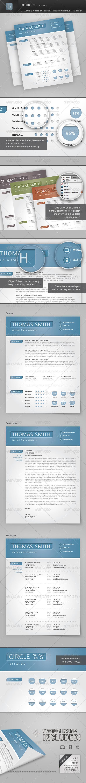 GraphicRiver Resume Set Volume 4 2209883