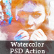 Creative Watercolor Photoshop Action - GraphicRiver Item for Sale
