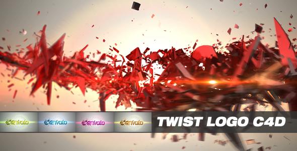VideoHive Twist Logo C4D 2211689
