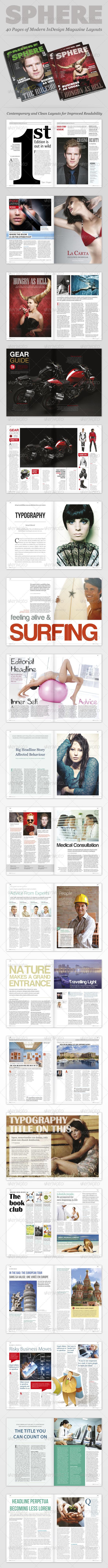 GraphicRiver InDesign Magazine Sphere 2180863
