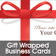 Gift Wrapped Business Cards - GraphicRiver Item for Sale