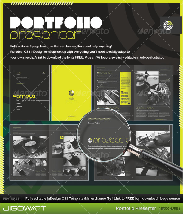 GraphicRiver Portfolio Presenter 83018