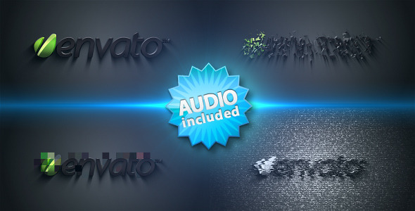 After Effects Project - VideoHive Distorted Logo Sting 251558