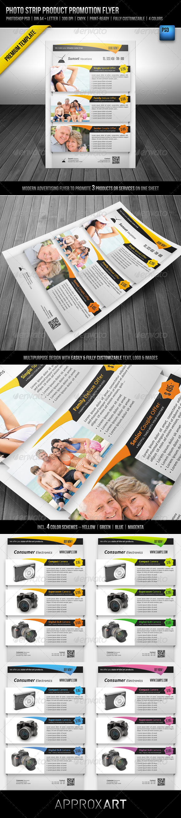 GraphicRiver Photo Strip Product Promotion Flyer 2221012