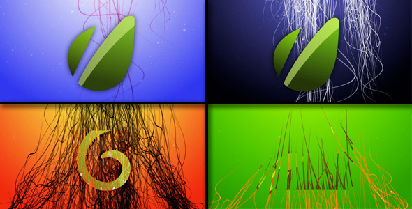 After Effects Project - VideoHive Angel Hair Logo Reveal 2223654