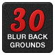 30 Assorted Blur Backgrounds - GraphicRiver Item for Sale
