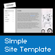 XML Simple Site Template - ActiveDen Item for Sale