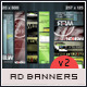 Web Advertisement Banner Templates 2 - GraphicRiver Item for Sale