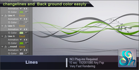 After Effects Project - VideoHive Lines 263227