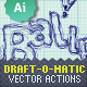 Draft-O-Matic Sketchbook - Vector Actions Pack - GraphicRiver Item for Sale
