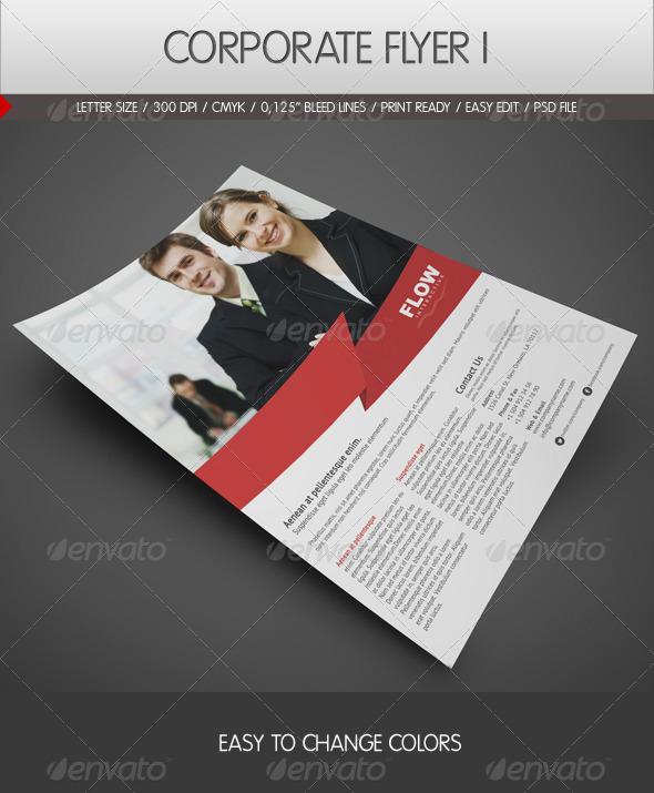 GraphicRiver Corporate Flyer 2226004