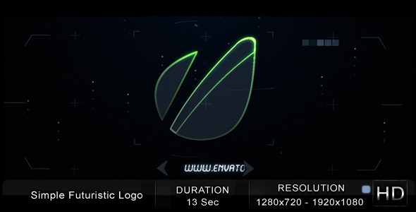 After Effects Project - VideoHive Simple Futuristic Logo 2229519