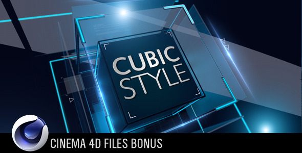 After Effects Project - VideoHive Cubic Style 2229929