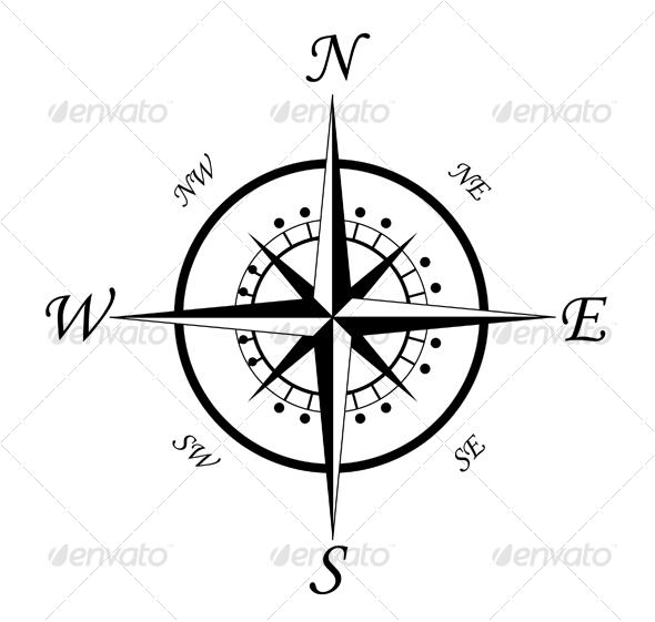GraphicRiver Compass symbol 3 83417