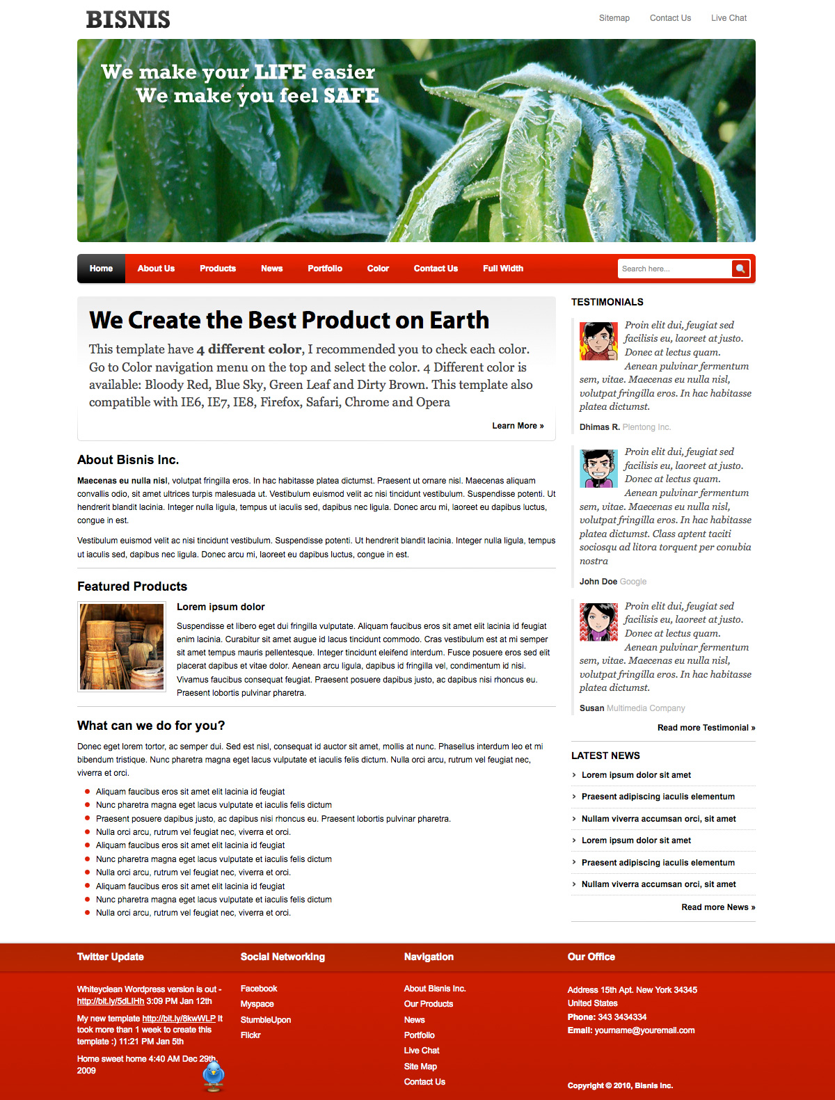 write essay small business profile