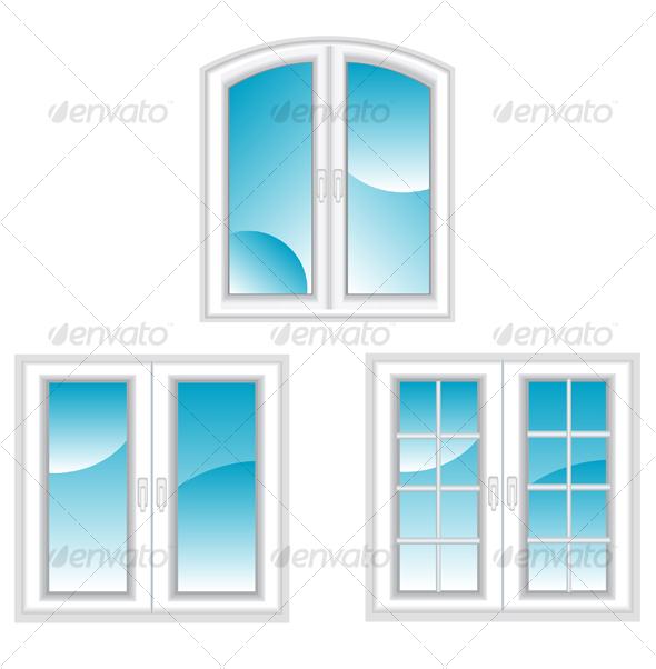 GraphicRiver Plastic polymer windows 83458