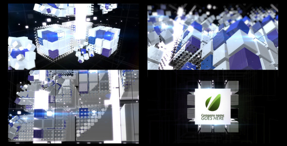 After Effects Project - VideoHive Cubics 2232315