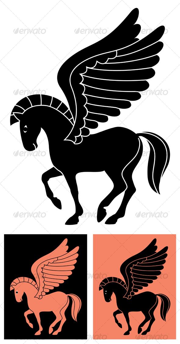 GraphicRiver Decorative Pegasus 83530