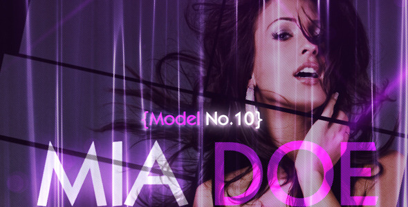 After Effects Project - VideoHive Models Agency 1129422