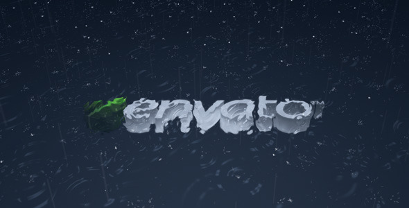 After Effects Project - VideoHive logo under the rain 253304