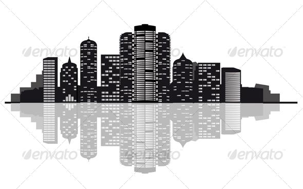 GraphicRiver Modern City 83602
