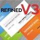 Refind V3 - Social Media Business Cards - GraphicRiver Item for Sale