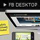 Facebook Desktop - GraphicRiver Item for Sale