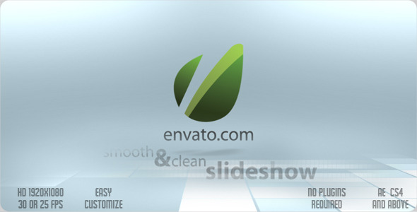 After Effects Project - VideoHive Smooth & Clean Slideshow 2241977