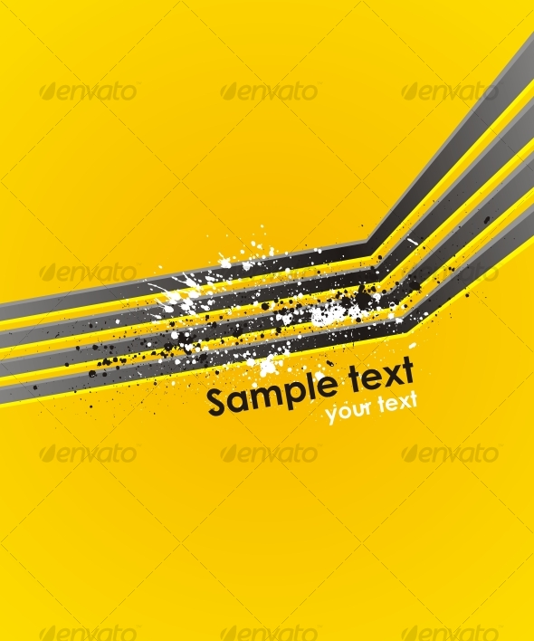 GraphicRiver Abstract vector background with modern lines 83797