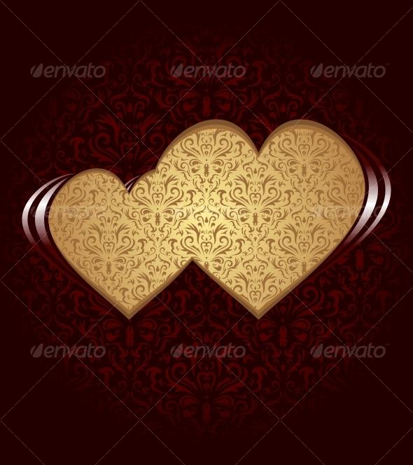 GraphicRiver Two hearts 83809