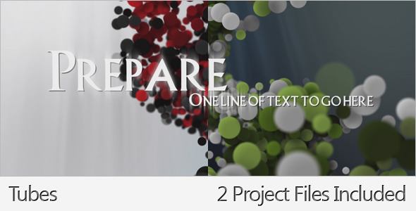 After Effects Project - VideoHive Tubes 2249533