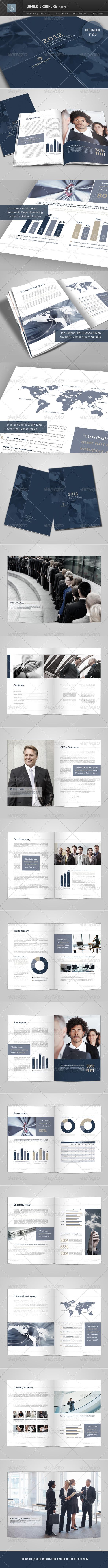 GraphicRiver Bifold Brochure Volume 3 1503497