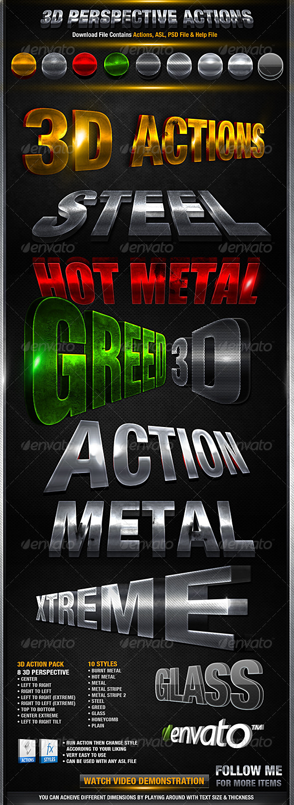 GraphicRiver 3D Action Pack 2250107