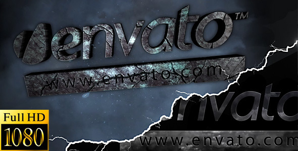 After Effects Project - VideoHive Stormy Stone Logo 2250390