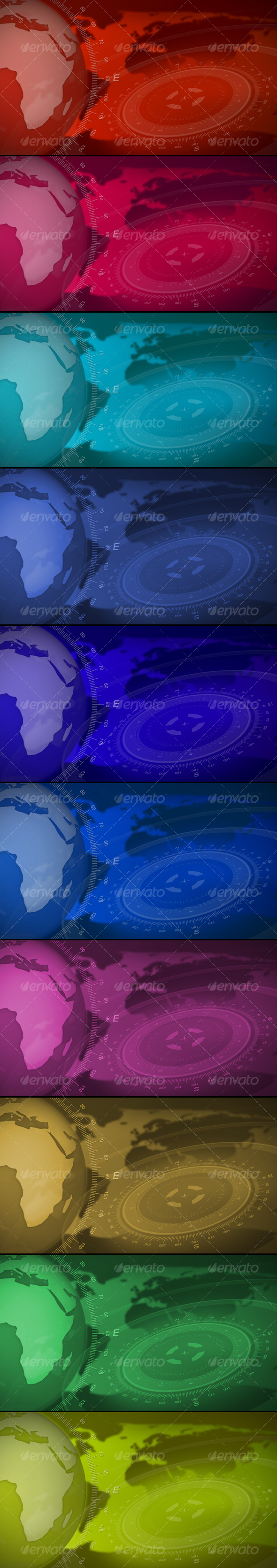 GraphicRiver Broadcast Design Backgrounds 83997