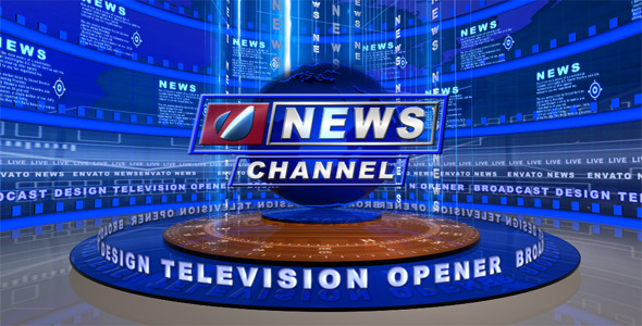 VideoHive Broadcast Design Tv News Open 2251468