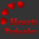 Hearts Preloader - ActiveDen Item for Sale