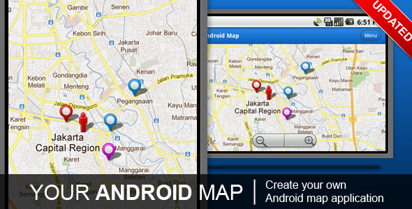 CodeCanyon Your Android Map 236897