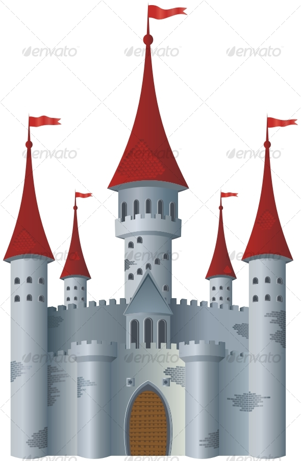 GraphicRiver Fairy-tale castle 84107