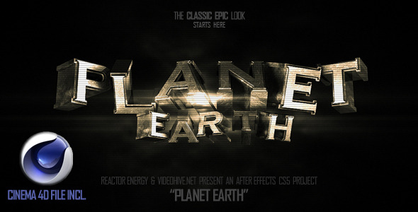 VideoHive Planet Earth 2256809