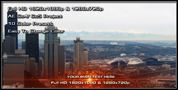 After Effects Project - VideoHive Light Lower Third 255618