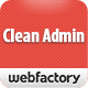 Clean Admin - Super Simple Admin Template - ThemeForest Item for Sale