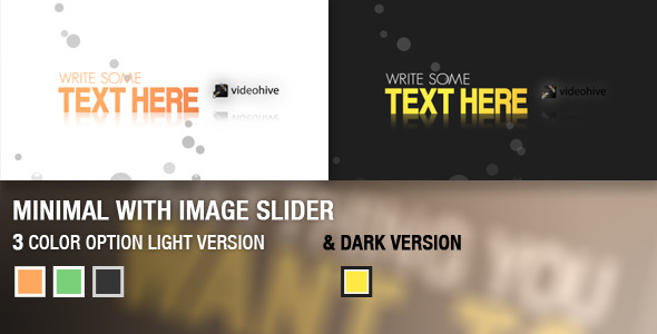 VideoHive Minimal with Image Slider 2261126
