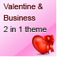 Valentine and Business - Email Template - 2 Layout - ThemeForest Item for Sale
