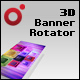 XML Driven 3D Banner Rotator (Papervision3D) - ActiveDen Item for Sale