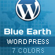 Blue Earth Wordpress theme - ThemeForest Item for Sale