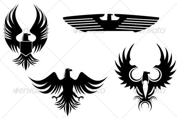 GraphicRiver Eagle symbols 84758