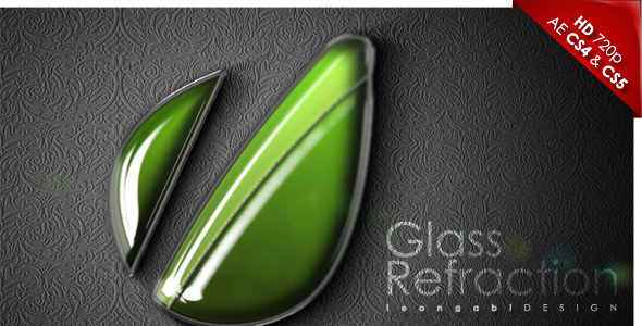After Effects Project - VideoHive Glass Refraction 2174560